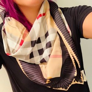 Burberry Silk Scarf/wrap